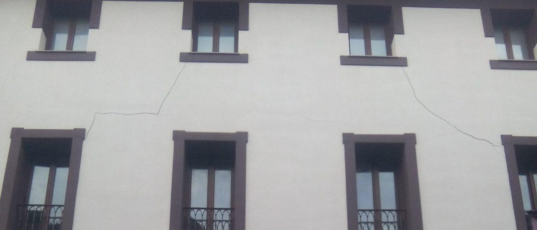 Grietas en los edificios