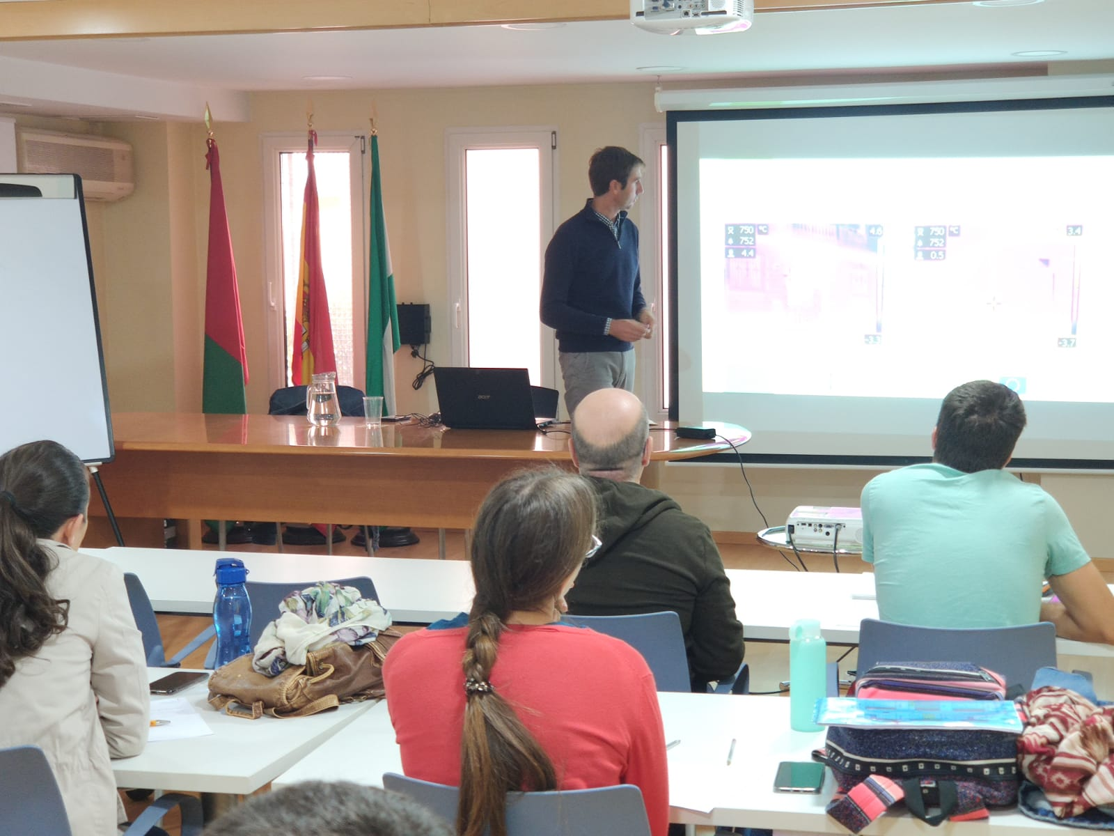 Formación en aulas IPE control